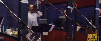 STAGE TUBE: Sneak Peek Inside the Studio for the COME FROM AWAY Cast Album