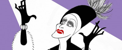 BWW Exclusive: Ken Fallin Draws the Stage - Glenn Close in SUNSET BOULEVARD