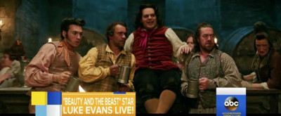 BEAUTY & THE BEAST: Josh Groban Sings New Song 'Evermore' + Josh Gad & Luke Evans Perform 'Gaston'
