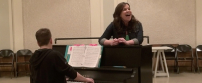 BWW TV: Go Inside Rehearsal for Encores! THE GOLDEN APPLE with Lindsay Mendez, Ashley Brown & More!