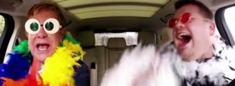 VIDEO: Elton John, James Corden Rock Out to LION KING & More in Carpool Karaoke