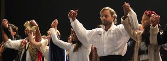 Photo Coverage: Alfie Boe, Montego GloverandAlex FinkeTake First Bows in Broadway's LES MISERABLES!