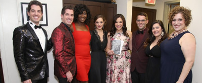 Photo Coverage: A Backstage Visit with Laura Osnes, Lindsay Mendez & more at 75 YEARS OF BARBRA STREISAND
