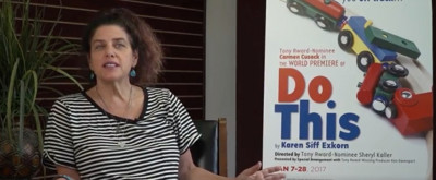 STAGE TUBE: Interview with Director Sheryl Kaller and Playwright Karen Siff Exkorn of DO THIS! Starring Carmen Cusack