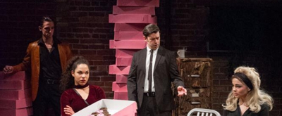 BWW Review: Caf? Nordo's 'Twin Peaks' Homage LOST FALLS Bites Off More Than It Can Chew