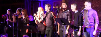 STAGE TUBE: Watch Highlights from O'Brien & Vinson's 'THERE'S SOMETHING THERE' at 54 Below, Featuring Emily Padgett and More