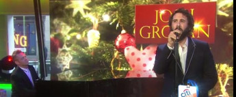 VIDEO: Josh Groban Talks GREAT COMET; Performs 'Merry Little Christmas' Live