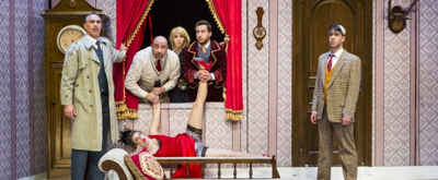 BWW Review: THE PLAY THAT GOES WRONG Exudes Energy  at Beit Lessin Theatre