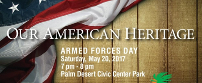 Desert Winds Freedom Band Celebrates Armed Services Day With OUR AMERICAN HERITAGE