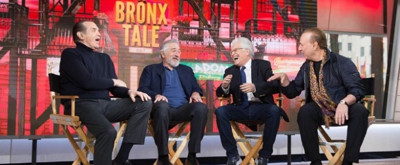 VIDEO: Robert DeNiro, Jerry Zaks & Chazz Palminteri Talk A BRONX TALE on 'Today'