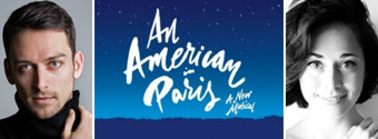 Garen Scribner and Sara Esty to Lead AN AMERICAN IN PARIS on Tour; Robert Fairchild to Depart Broadway Show This Spring