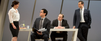 BWW Review: Darkly Funny DRY POWDER at the Rep Lacks Much Else