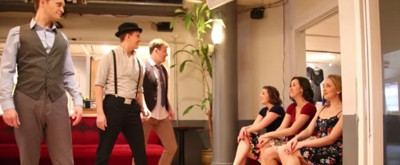 VIDEO: Broadway Dancers Show They Got Rhythm!