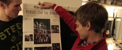 VIDEO: On This Day, March 29- NEWSIES Seize the Day on Opening Night