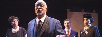 Photo Flash: First Look at Art McFarland in Amiri Baraka's THE MOST DANGEROUS MAN IN AMERICA (W. E. B. DU BOIS)