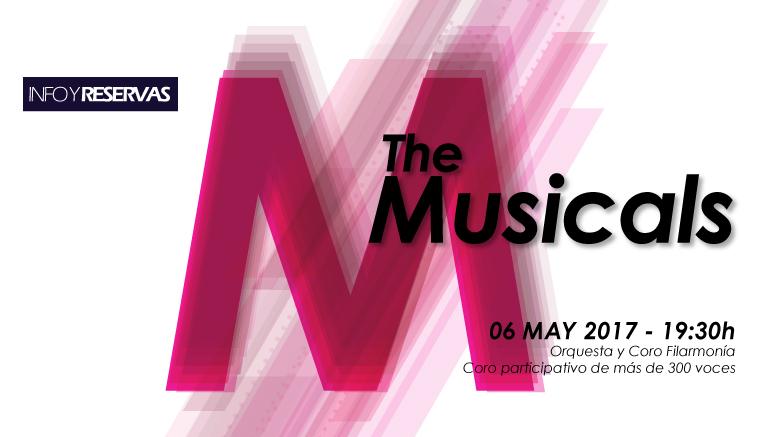 El concierto participativo THE MUSICALS tendrá lugar el próximo 6 de mayo