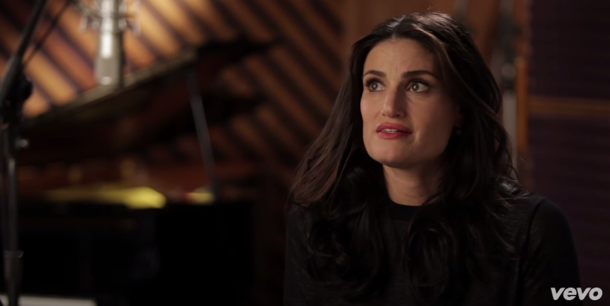 stage tube idina menzel opens up about working with kitt