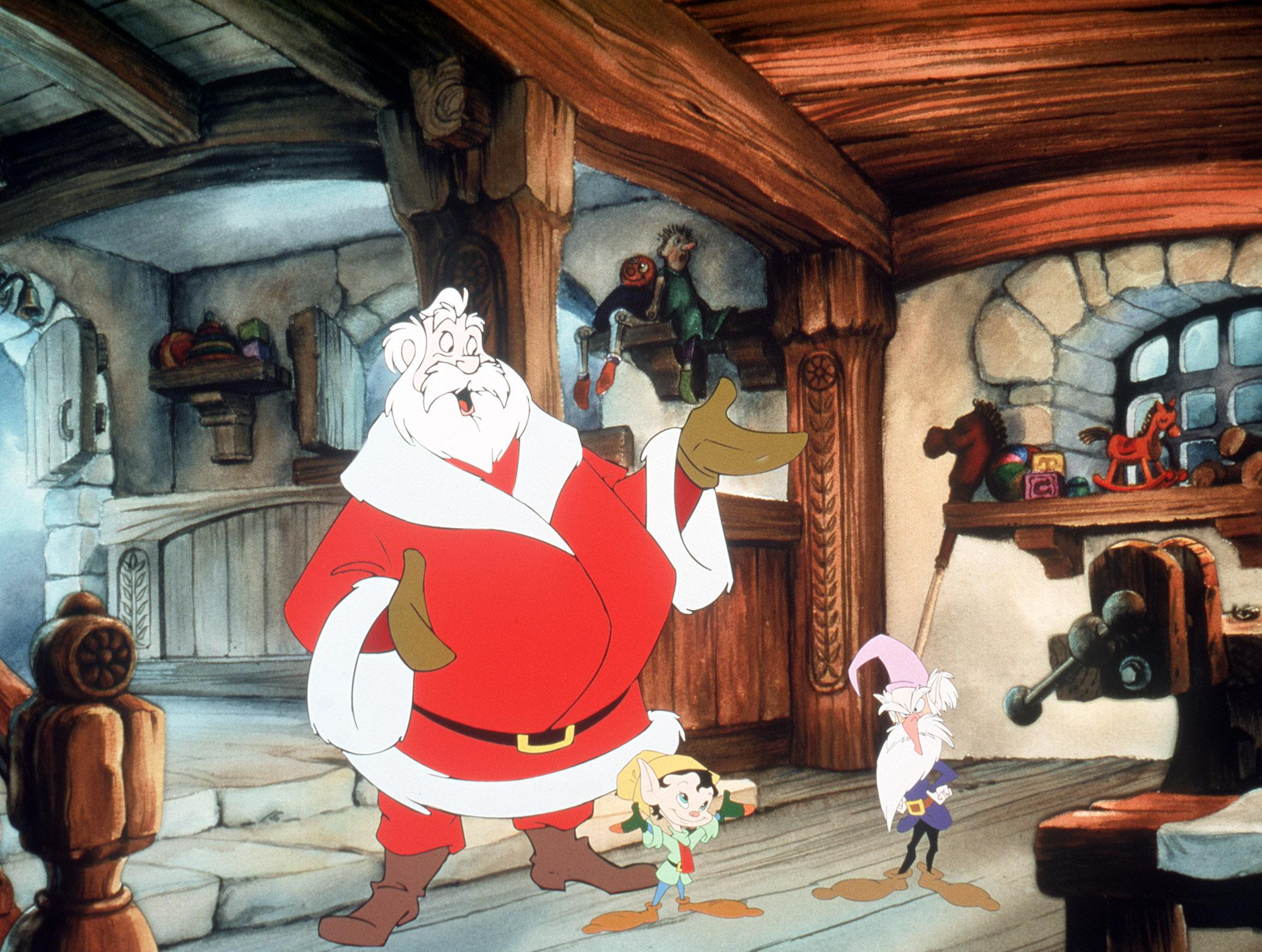 cbs to present animated musical holiday special the story of santa
