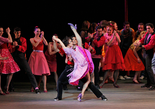 a review of the west side story played in the papermill theater At the public theater in new  christmas spectacular, carnegie hall west side story,  factory, west side story tours: finding neverland,.