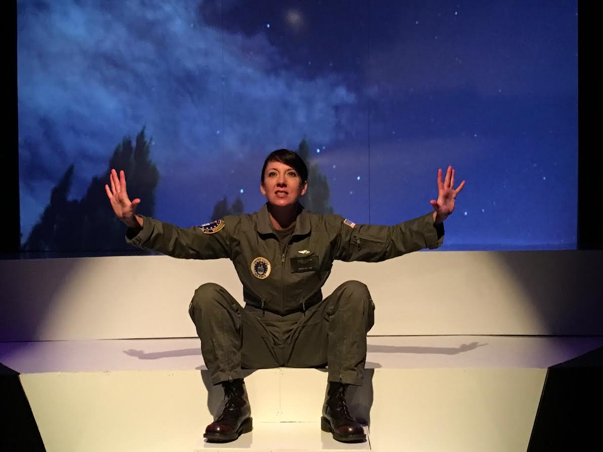 BWW Review: GROUNDED at Thinking Cap Theatre