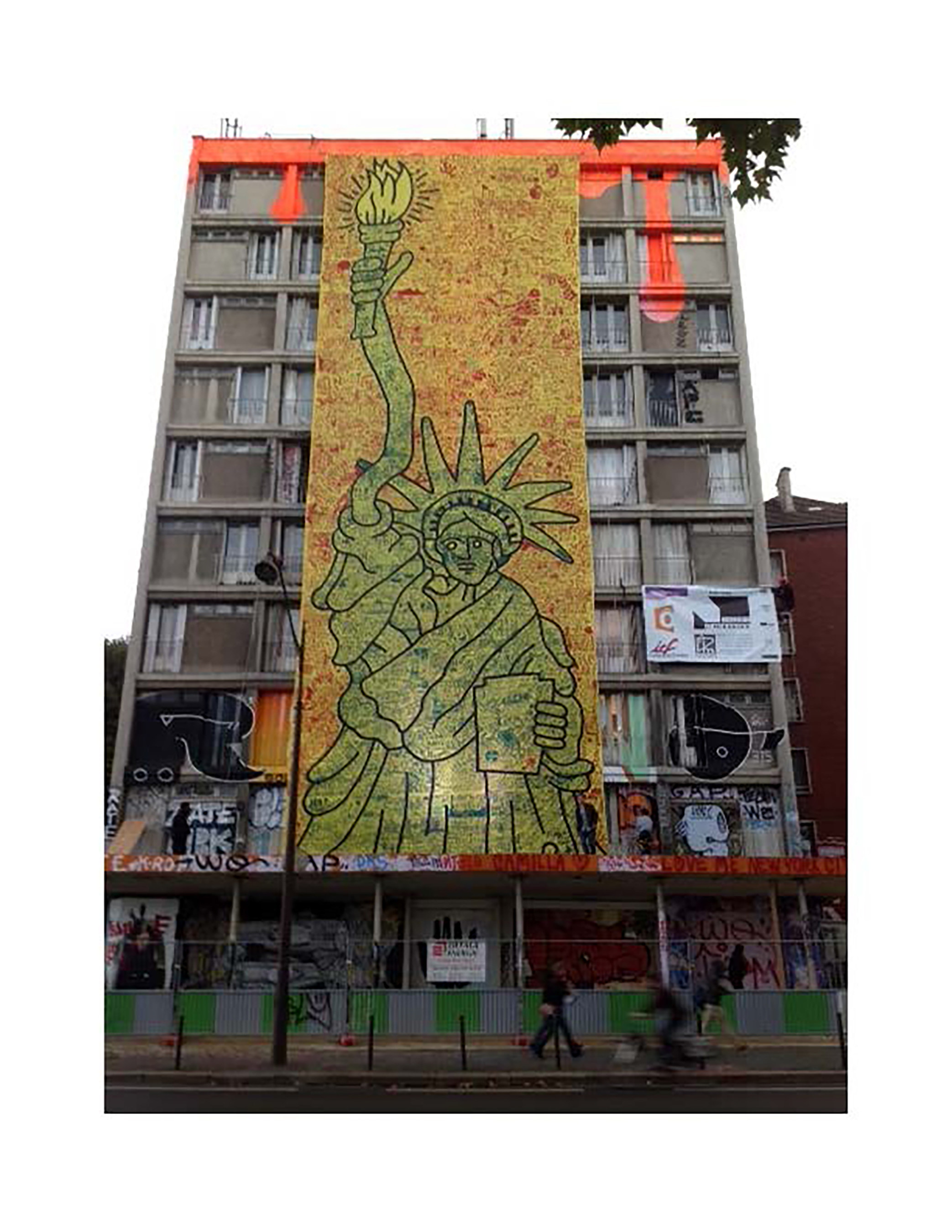 Keith Haring's Largest Art Piece Unveiled at NOMO SOHO Hotel Today