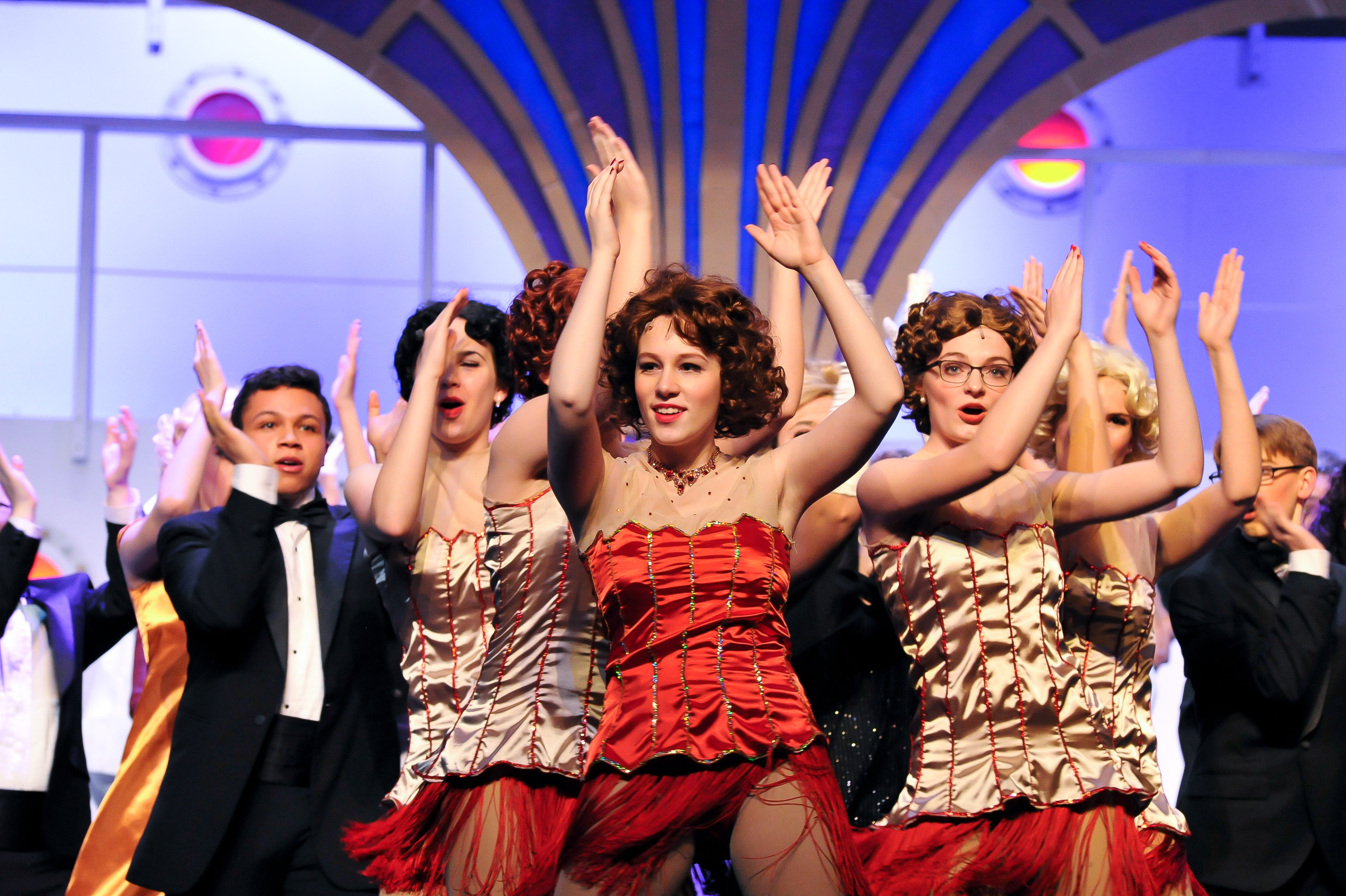 BWW Review: ANYTHING GOES! at Kennard-Dale High School