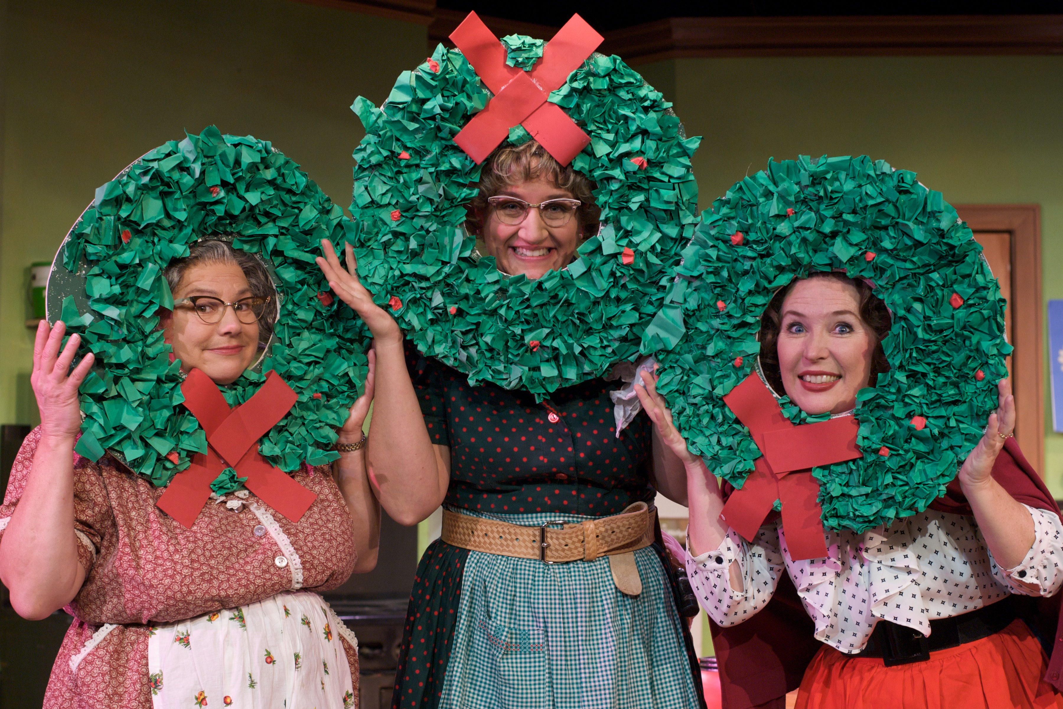 BWW Review: AWAY IN THE BASEMENT, A CHURCH BASEMENT LADIES CHRISTMAS  Entertains At The Performing Arts Center ...