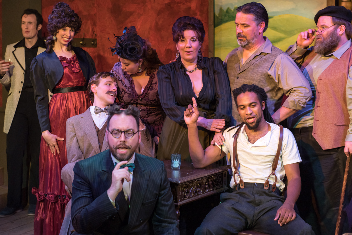 """BWW Review: """"Picasso at the Lapin Agile"""" less than it should be at Blank Canvas"""