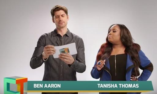 tanisha thomas u0026 ben aaron to host new syndicated show crazy talk watch promo - Ben Aaron