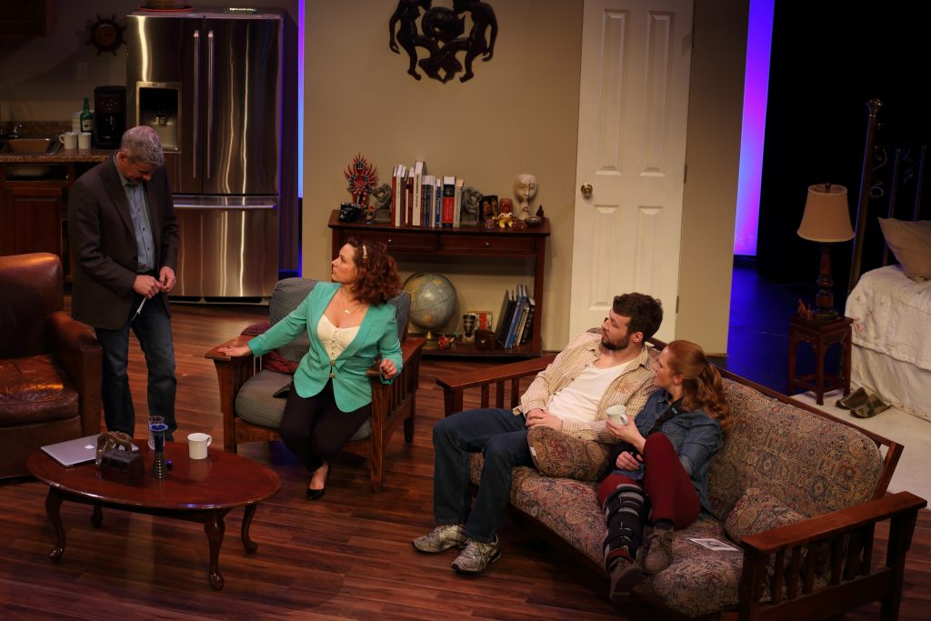 BWW Review: TIME STANDS STILL at The Liminal Playhouse