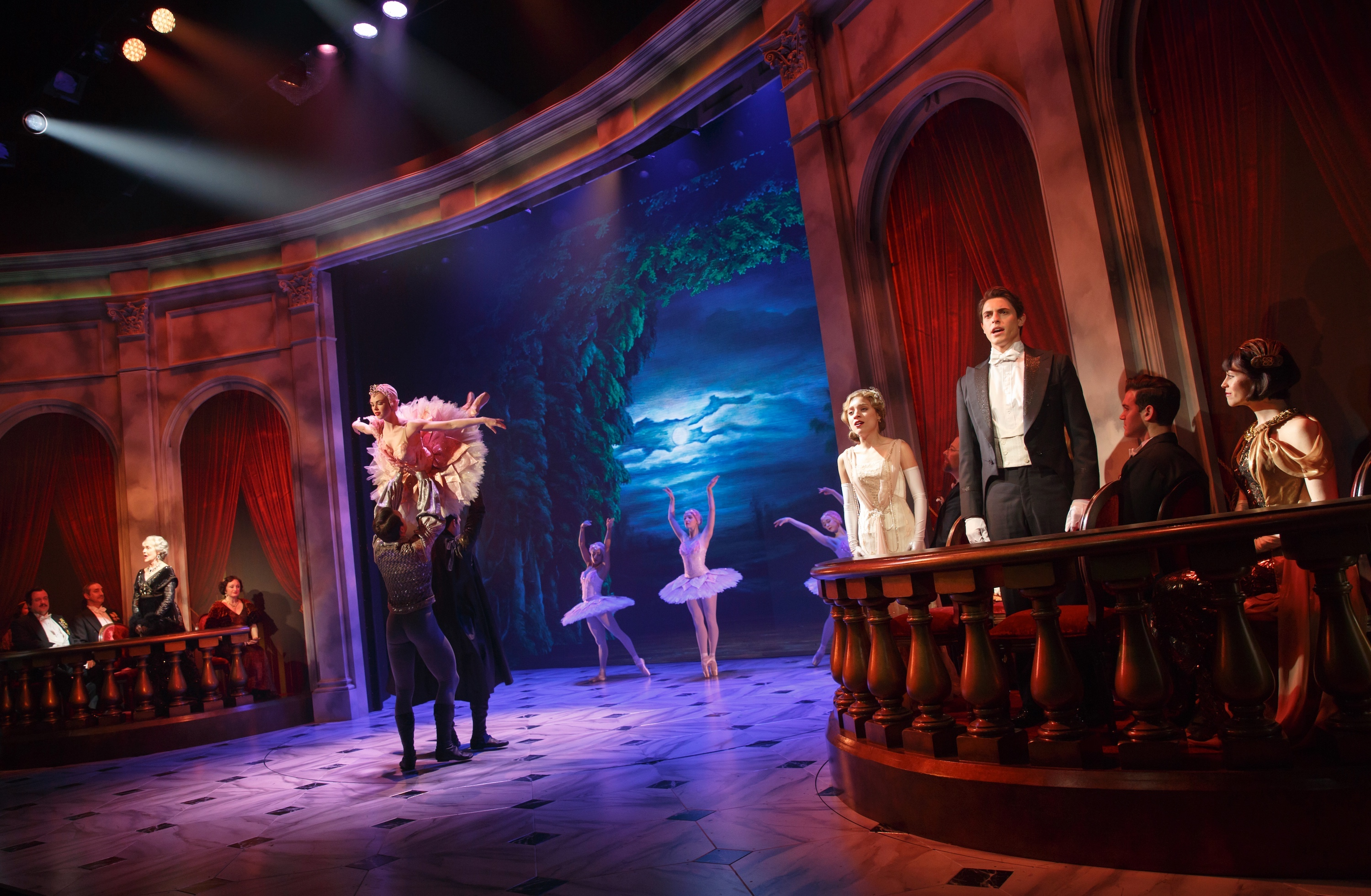 New musical anastasia in world premiere at hartford stage company