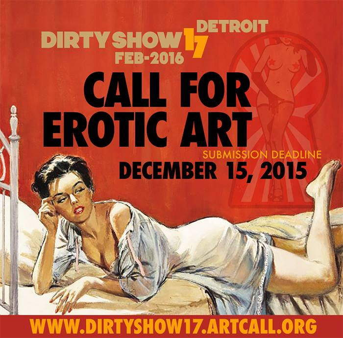 Erotic art call for submissions