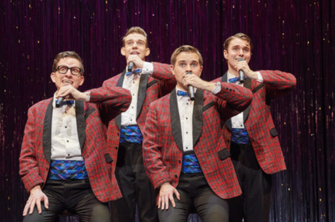 "BWW Review: ""Forever Plaid,"" a pleasant Jukebox musical @ Great Lakes Theater"
