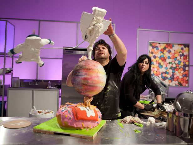 Cake Tv Show Food Network : Food Network Premieres New Competition Series CAKE WARS ...