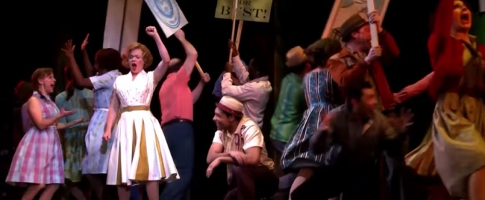 STAGE TUBE: Watch Highlights of 5th Avenue's THE PAJAMA GAME Starring Billie Wildrick, Josh Davis and More!