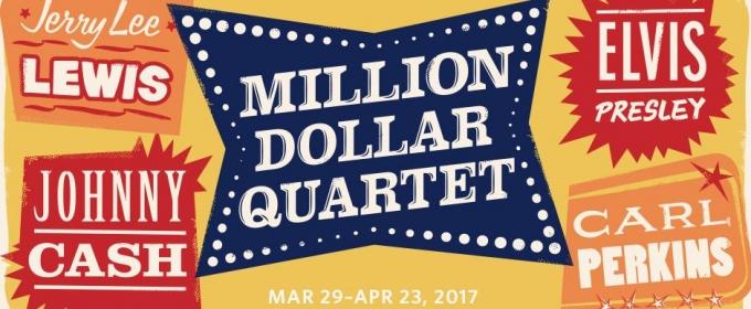 James Barry, Scott Moreau, Jake Rowley and Nat Zegree Headline MILLION DOLLAR QUARTET at Paper Mill Playhouse