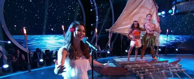 VIDEO: MOANA, FROZEN & More Among Performances from DWTS' 'Disney Night'!