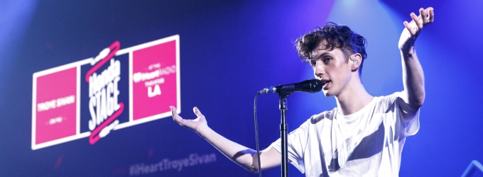 Photo Flash: Troye Sivan Performs Live at the iHeartRadio Theater in LA