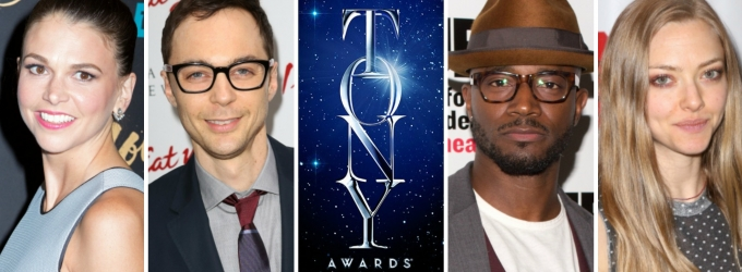 Jim Parsons, Amanda Seyfried, Taye Diggs, Sutton Foster & More Will Present at 2015 Tony Awards; Full Lineup!
