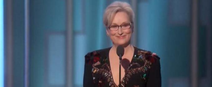 VIDEO: Meryl Streep Receives Cecil B. deMille Award; Watch Moving Acceptance Speech