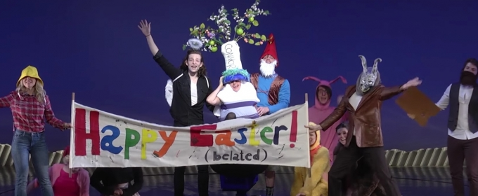 VIDEO: DEAR EVAN HANSEN Cast Helps Find a Lost Egg at BC/EFA Easter Bonnet!