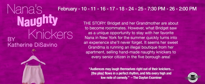 Stage III Community Theatre Presents NANA'S NAUGHTY KNICKERS, 2/10