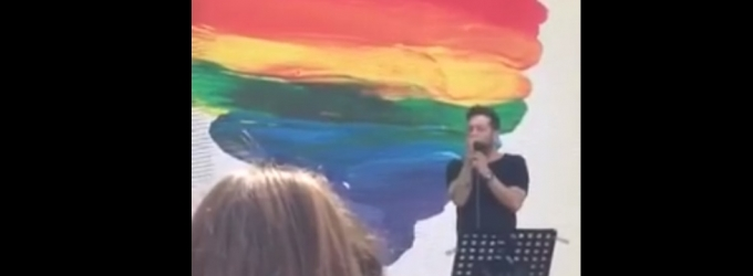 STAGE TUBE: Matt Cardle Sings 'Bring Him Home' in Honor of Orlando Victims at West End Live