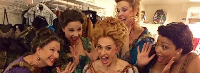 Photo Flash: Saturday Intermission Pics, 5/23 - SOMETHING ROTTEN!, THE KING AND I, FINDING NEVERLAND, and More!