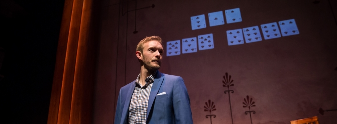 Photo Flash: Brett Schneider Brings Illusion to the Stage in THE MAGIC PLAY at the Goodman