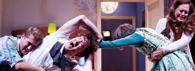 BWW Reviews: BEDROOM FARCE Leaves Audiences in Stitches as Westport Country Playhouse's Grown-Up Bedtime Tale