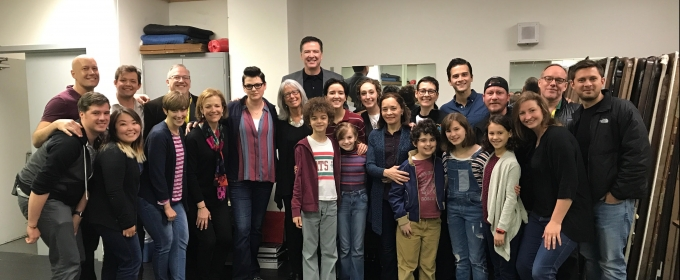 Breaking News + Photo: James Comey Attends FUN HOME Matinee in Washington, DC Today
