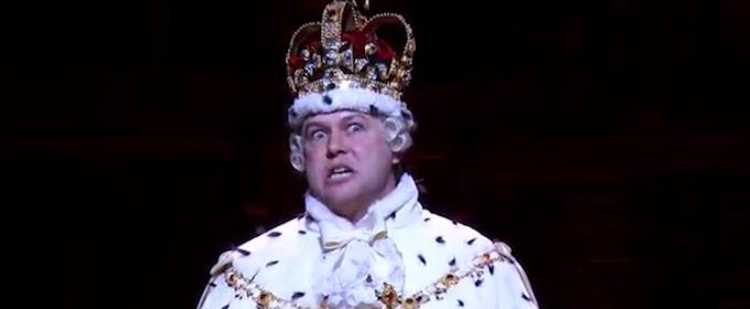 VIDEO: 'Today' Shares First Look at Taran Killam as HAMILTON's King George