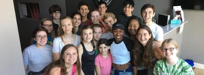Photo Flash: Tony Winner Cynthia Erivo Inspires Broadway Method Academy in CT