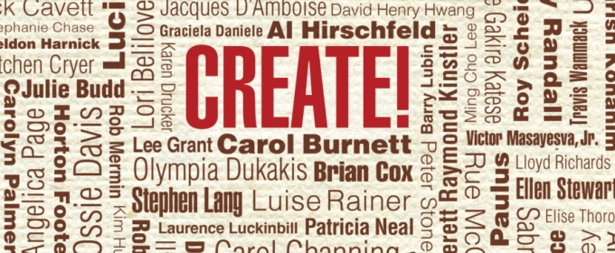 Stars Come Out for Celebration of New Book CREATE! How Extraordinary People Live To Create and Create To Live